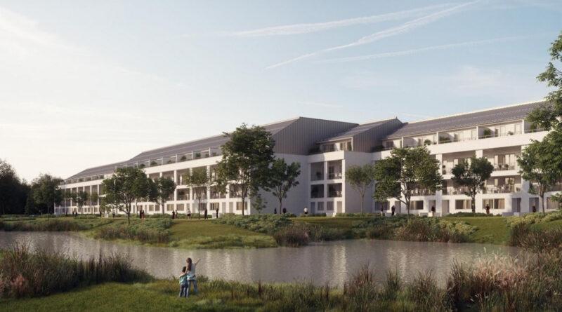 Verde Vita néven új építésű lakásokból álló lakópark épül Vácott (X)
