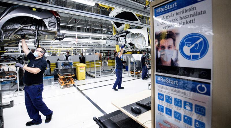 Nem fél a magyar autóipar: kisebb károkat okozhat a koronavírus-járvány második hulláma