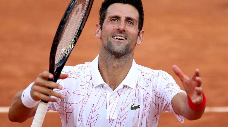 Tenisz: Djokovics tizedszer döntős Rómában, és megint Nadal előtt jár