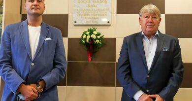Aranycsapat: felavatták Kocsis Sándor emléktábláját