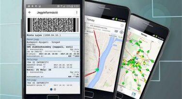 Már több mindenre használható a MÁV mobilalkalmazása