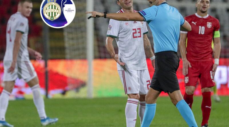 BL: a válogatott után az FTC meccsén a svájci játékvezető