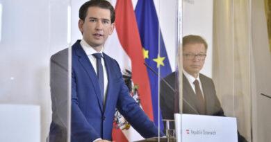 Ausztriában is szigorítanak: éjszakai kijárási tilalom, elvitelesre állítják át az éttermeket, bezárnak a középiskolák