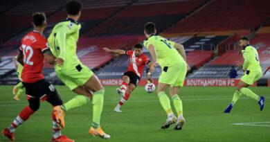 A Southampton átvette a vezetést a Premier League-ben