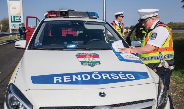 Fontos videós figyelmeztetést adott ki az autósoknak a rendőrség