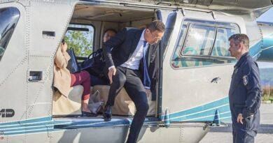 Pintér Sándor percre pontosan tudja, mennyit repültek a rendőrség helikopterei