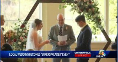 A meghívottak majdnem fele covidos lett az ohiói esküvő után