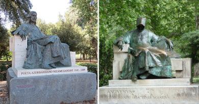 Mi köze a Rómában lemásolt, városligeti Anonymus-szobornak a perzsákhoz és Azerbajdzsánhoz?