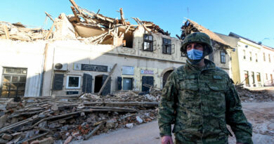 A horvátországi földrengés után több mint 400 utórengést észleltek a magyar mérőállomások