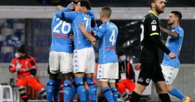 Olasz Kupa: a Napoli négyessel jutott a legjobb négy közé