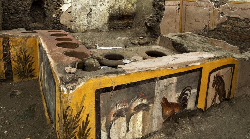 Restaurálják Pompeji második világháborúban megsérült épületének egyes részeit