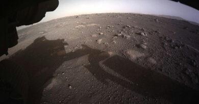 Mars: megjelentek az első felvételek a landolásról