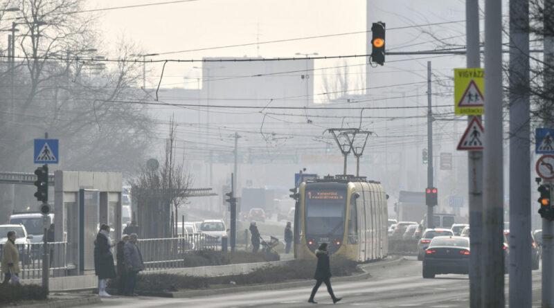 Egészségtelennek minősítették több város, például Budapest levegőjét