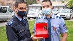 Budapest legcukibb zsarui: aprócska szalamandra életét mentette meg a járőrpáros