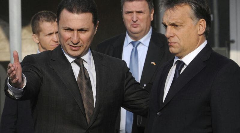 Azzal vádolták meg a Budapesten bújkáló Gruevszkit, hogy ellopta a pártja adományait és ingatlanokat vett belőle